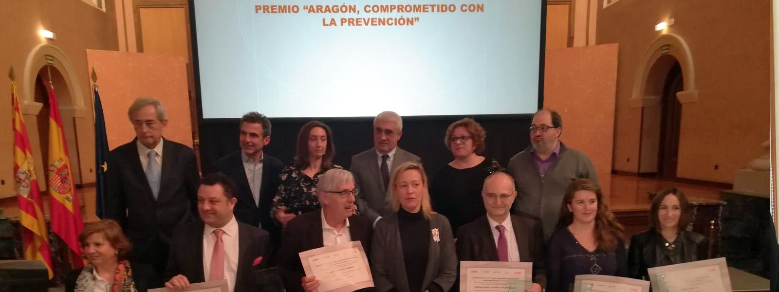 Premios Aragón comprometido con la prevención