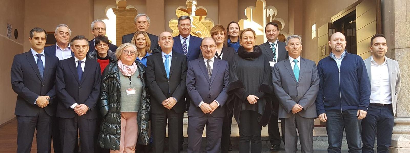 Aprobación de la Ley de Diálogo Social y Participación Institucional en las Cortes de Aragón