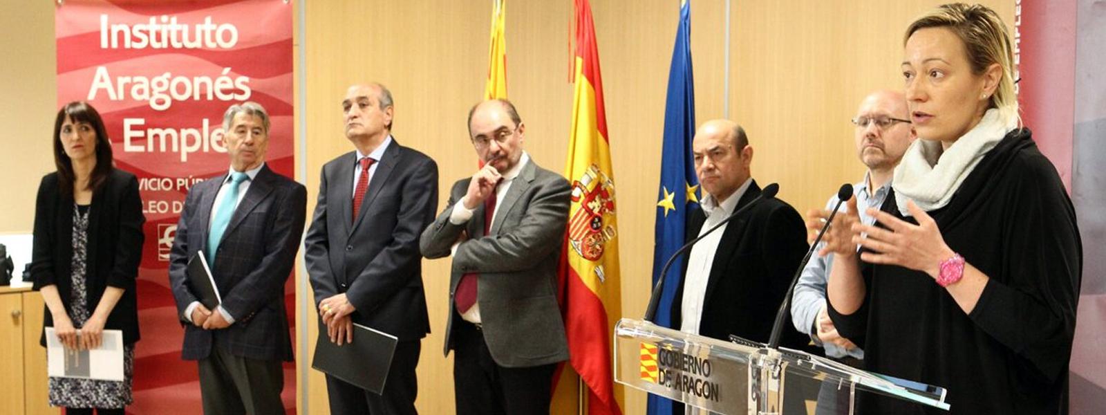 Presentación del Plan Aragonés para la Mejora de la Empleabilidad Joven 2018-2020