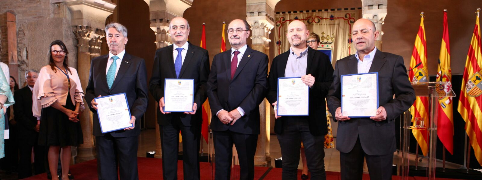 Entrega Premio Aragón 2018