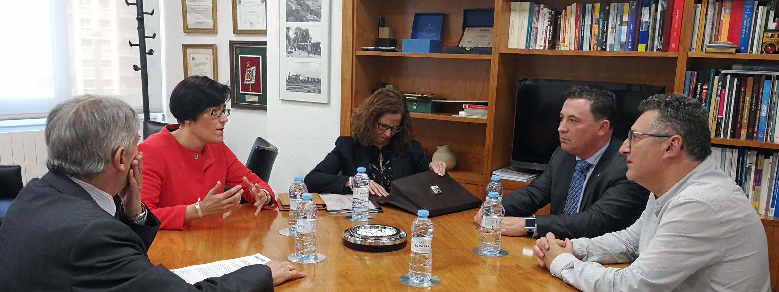 Reunión con Sofía Ciércoles, alcaldesa de Andorra