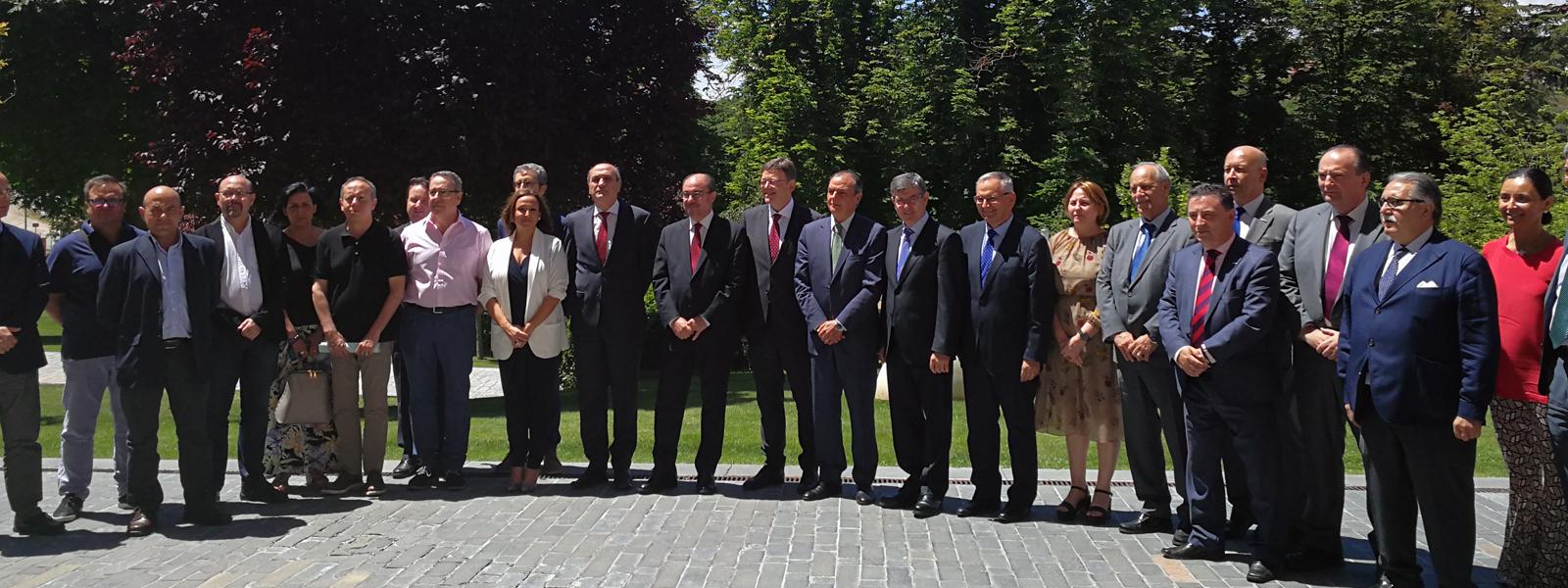 Encuentro en Teruel para analizar la situación del Corredor Cantábrico Mediterráneo