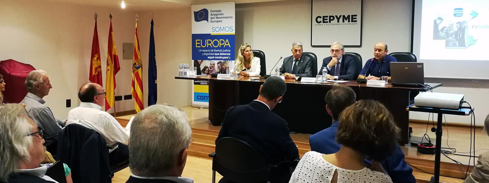 """JORNADA """"CRECIMIENTO, EMPLEO, INVERSIONES Y ECONOMÍA EN EUROPA"""""""