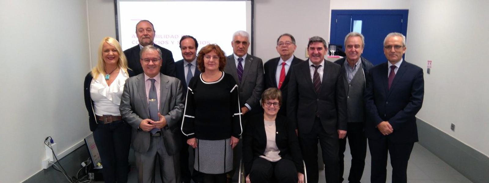 Firma del ACUERDO DE SENSIBILIZACIÓN, CONCIENCIACIÓN Y FOMENTO DE LA ACCESIBILIDAD EN COMERCIOS Y SERVICIOS