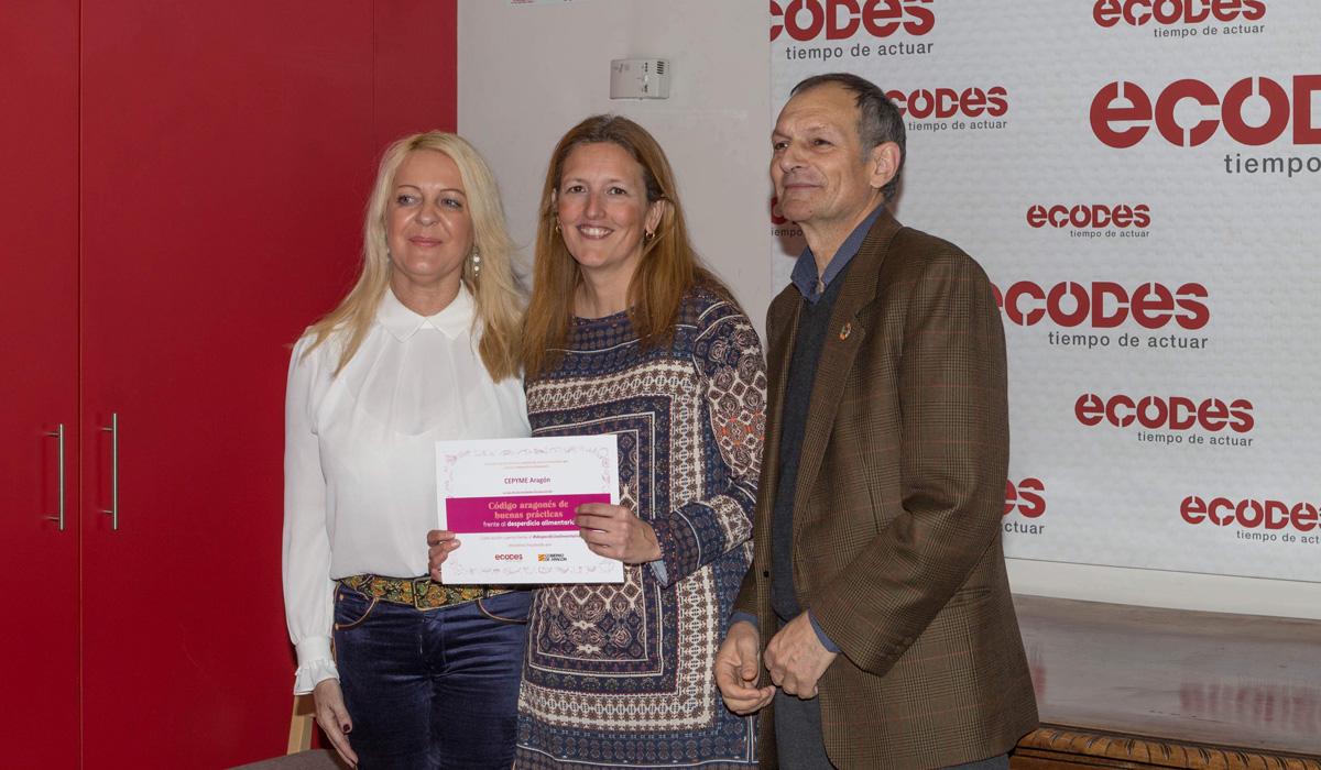 CEPYME Aragón se suma al Código Aragonés de Buenas Prácticas frente al Desperdicio Alimentario