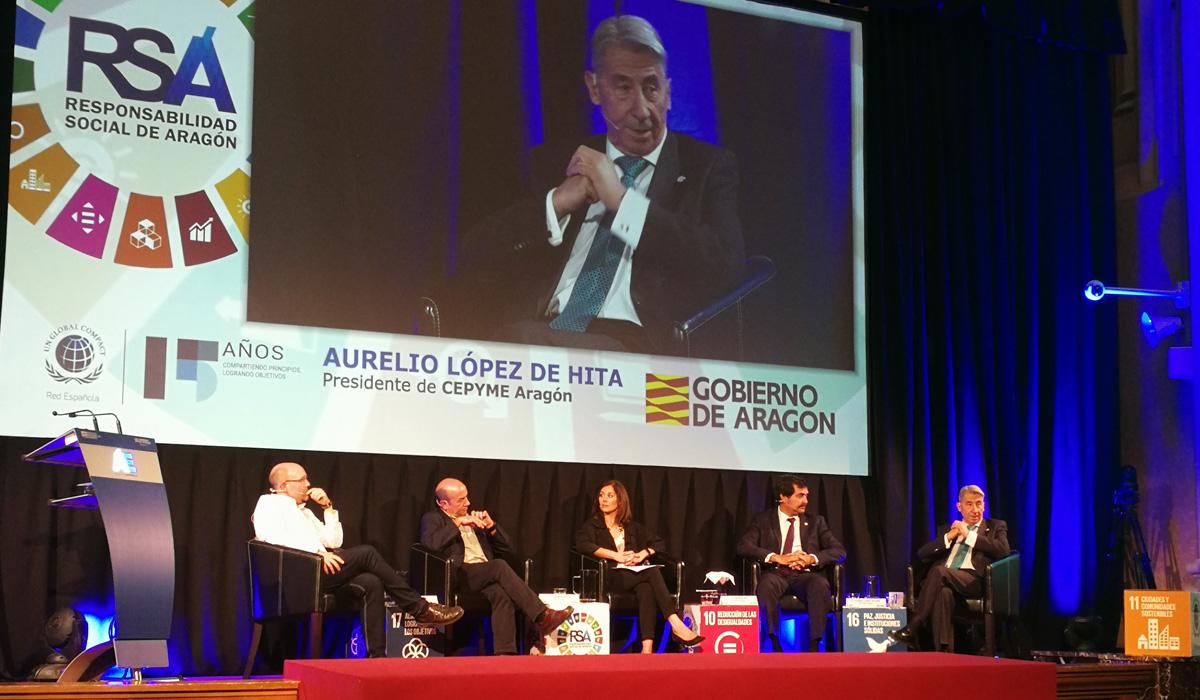 Jornada 'Las Empresas de Aragón y los ODS: Global Goals, Local Business'