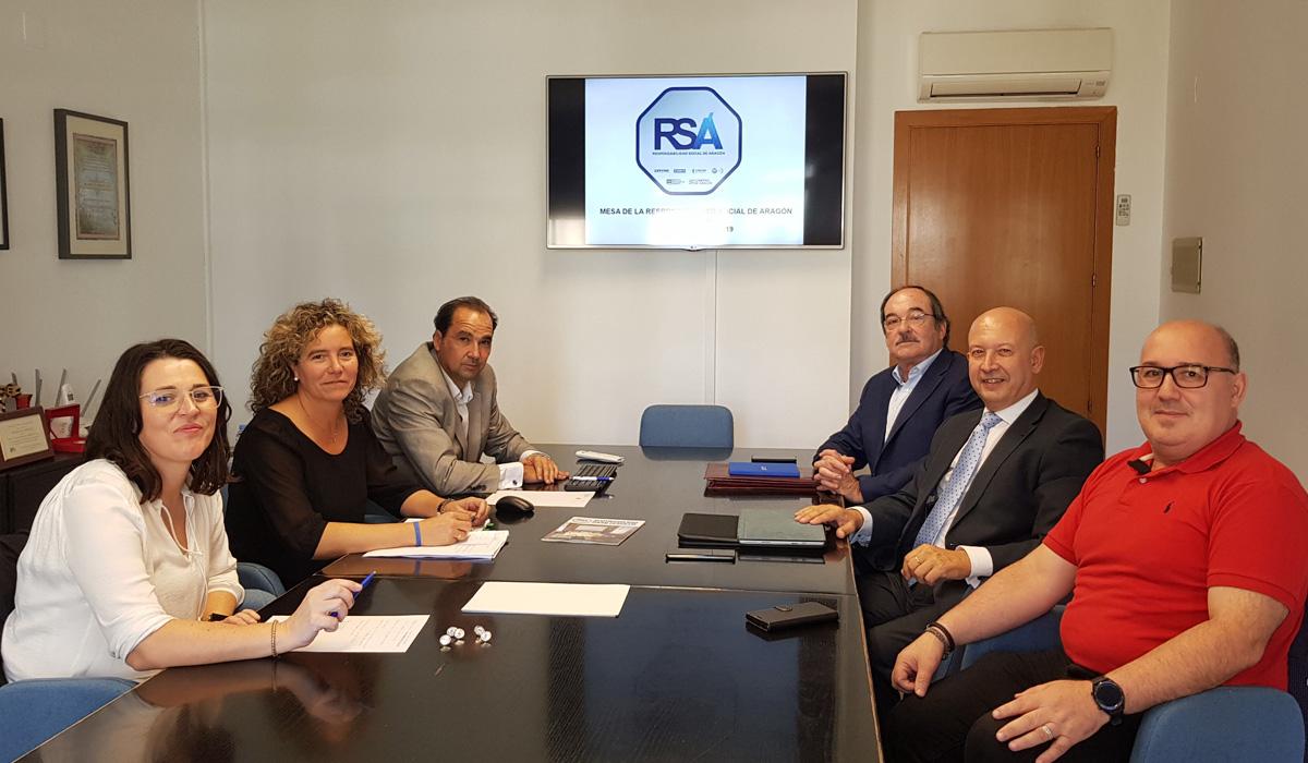 Reunión de la Mesa de la RSA